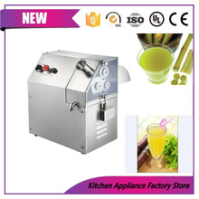 Free shipping electric stainless steel industrial 3 rollers fruit sugar cane juice extractor machine sugar cane mill