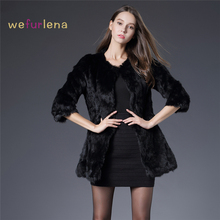 Women Real Rabbit Fur Jacket Cand Colors Genuine Fur Coats Womens Fashion Outwear High Quality Winter Autumn Brand Sale Fur Coat