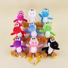 Japan Anime Super Mario Plush Pendant 12cm Mini Mario Bros Luigi Yoshi Cartoon Game Keychain Toys Action Figures Toys(China)
