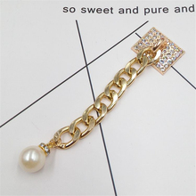 Dower Me Brand Alloy Mobile Phone Chain Ornaments Simple Attractive Phone Hanging Ornaments/Finishing/Decoration Phone Straps(China)