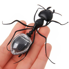 Lovely Mini Solar Power Toy Solar Power Ant Animal Educational Toy with Solar Panel Educational Gadget Children Gift
