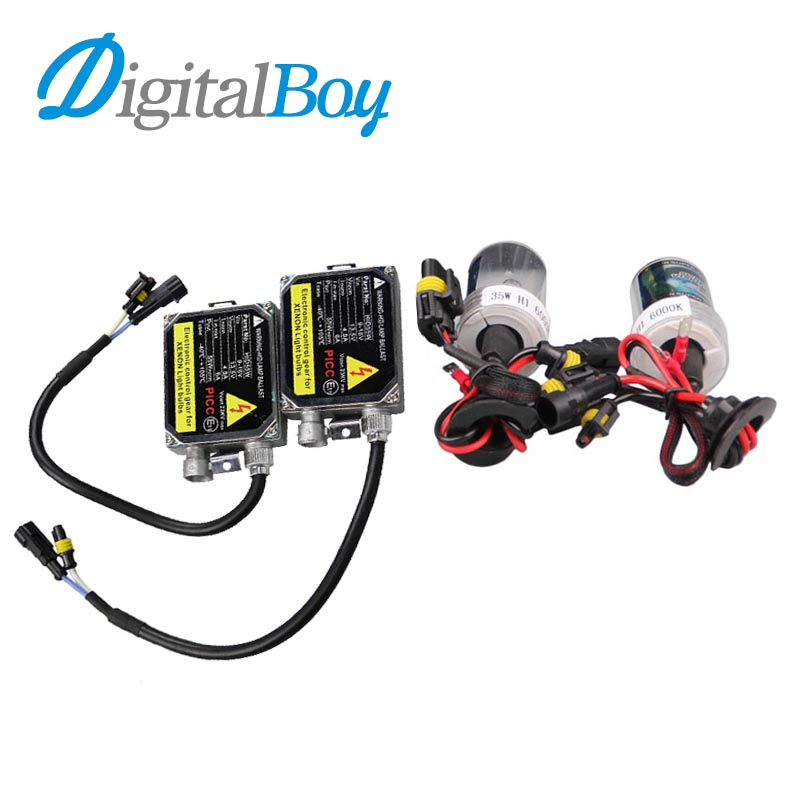Digitalboy 9006 kit HID 55W Xenon Ballast 12V Car Electronic Ballast Blocks with Xenon Bulbs for 9005 880/881 Lamp 6000k 8000k<br><br>Aliexpress