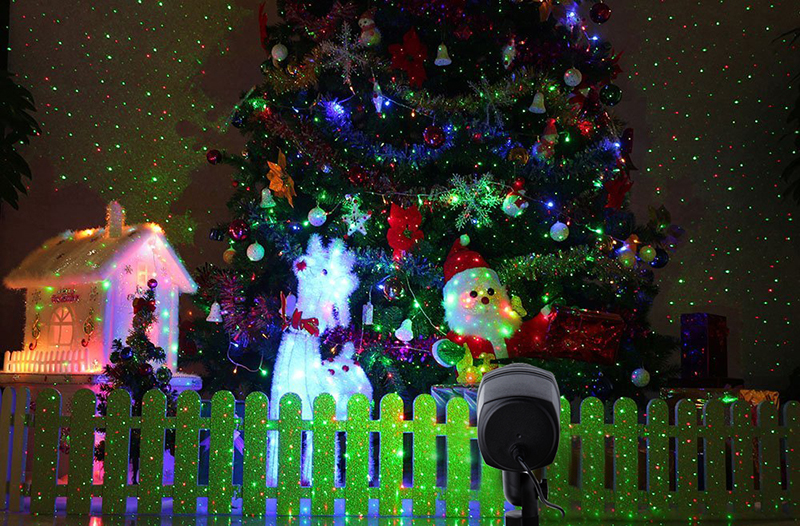 laser christmas lights star red green projector outdoor garden showers waterproof ip65 rf remote motion rg