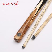 New Handmade Cuppa Snooker Cues Set 9.8mm/11.5mm Tip 3/4 Snooker Cue Case Set China