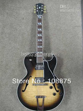 Free shipping es175 hollow body electric guitar(China)