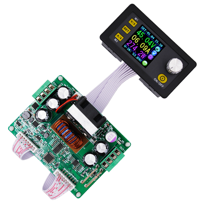 5pcs DPS3012  color LCD Display regulator converter Step-down Programmable Power Supply module Constant Voltage current tester<br>
