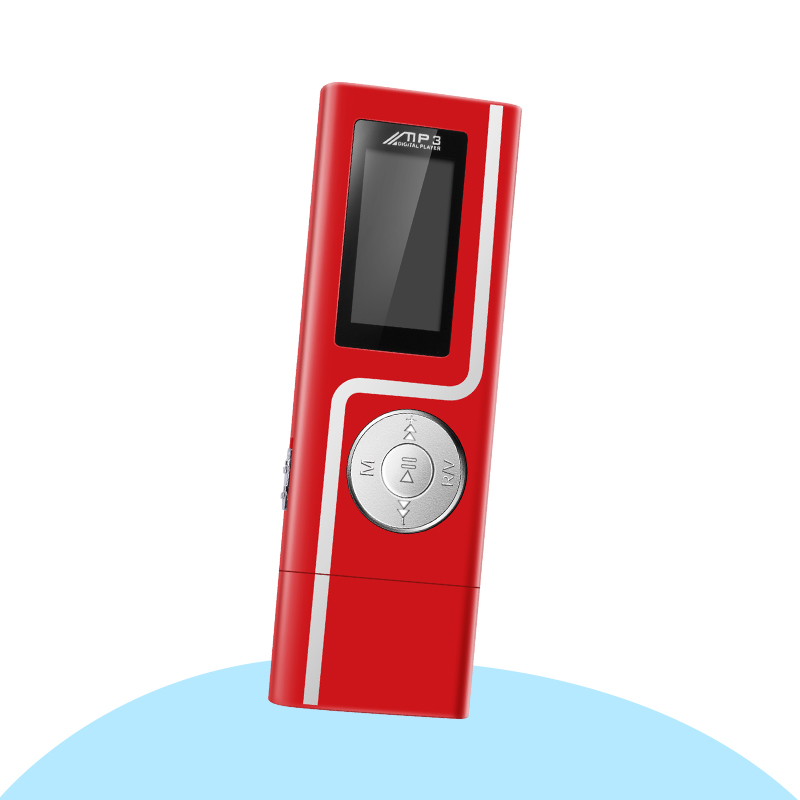 GERUIDA MP3 Player Faster Charge USB MP3 Mini Music Player Also U Disk 2G4G8G With FM Recording  OTG Lanyard  (6)