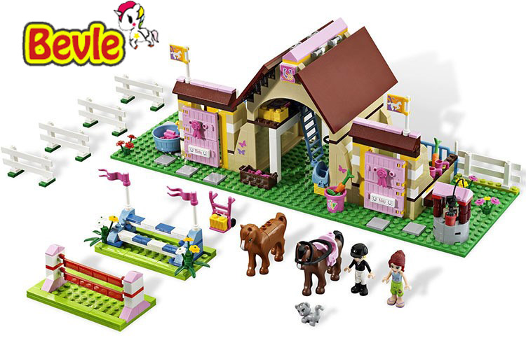 Bela 10163 Friends Maya Collective Farm Toys Gift Building Block Toys Compatible with<br>