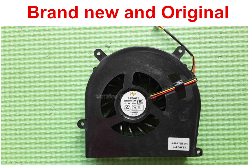 New fit Clevo BS6005MS-U94 6-31-X720S-101 GPU fan