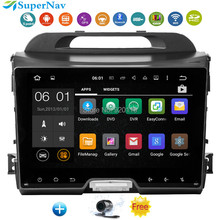 Android 5.1 In Dash Car DVD Player GPS Navigation for Kia Sportage R 2010-2015 With3G  Wifi Bluetooth Radio Audio Video Stereo