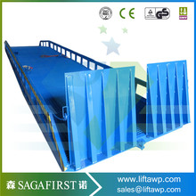 5-15t mobile ramp hydraulic forklift loading dock ramp(China)