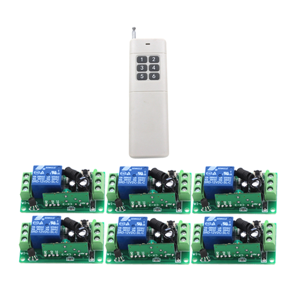 door access control system 24V DC 1CH Wireless Remote Switch 315/433.92 rf remote control light switch Receiver Transmitter<br>