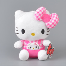 Baby Logo Hello Kitty Stuffed Plush Toy,  Baby Kids KT Doll Gift Free Shipping