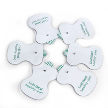 Health Care! 100pcs/lot NEW White Electrode Pads For Tens Acupuncture Digital Therapy Machine With High Quality Free Shipping!