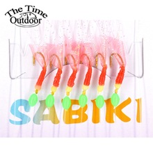 3 packs high quality sabiki sea fishing lures rigs hooks saltwater soft fishing lure tackle for sea de pesca