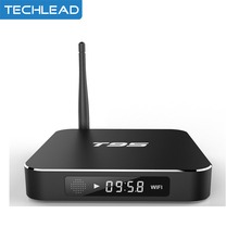 2pcs Metal Case Android 6.0 T95 Android TV Box Amlogic S905x Quad Core 1GB 8GB network xbmc loaded 4K 2k HDMI WIFI media player