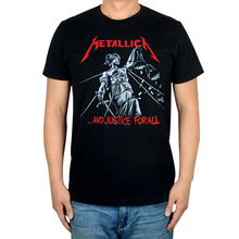 Free shipping  METALLICA HEAVY METAL BAND AND JUSTICE FOR ALL MUSIC ROCK  BLACK 100% COTTON T-SHIRT