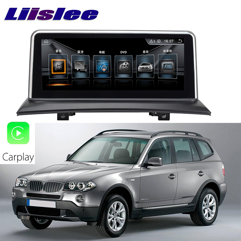 LiisLee Car Multimedia GPS Audio Hi-Fi Radio Stereo For BMW X3 E83 2003~2010 Original NBT Style Navigation NAVI (3)