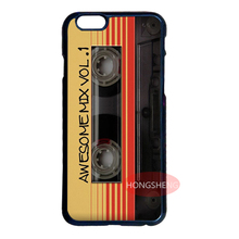 Awesome Mix Vol 1 Tape Case for LG G3 iPhone 4 4S 5 5S 5C 6 6S 7 Plus iPod 5 Samsung Note 3 4 5 S3 S4 S 5 Mini S6 S7 Edge Plus