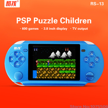Coolbaby RS-13 Built 472 Games +128IN 1Card Games Support AV External handles jeux 3.8 inch Players Games Console Handheld Game