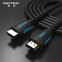 Vention High Speed White Color HDMI Cable 2M 1.4V Support 4K 1080P w/3D Ethernet For PC Blu-ray DVD TV(China)