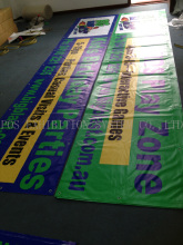 Custom Promotional Advertising Outdoor PVC Banner/Mesh Banner/Vinyl Banner