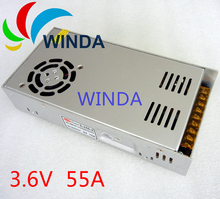 LED display switching power supply triple output DC3.6V 55A 200W ac dc converter universal ups cctv security system