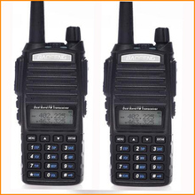 2 Pcs Walkie Talkie Pair Ham Radio Station Baofeng Uv82 For Hunting CB Radio HF Portable Walkie Talkie Two Way Radio Long Range