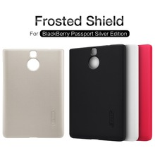 NILLKIN Super Frosted Shield hard back cover case for Blackberry Passport Silver Edition with free screen protector and package