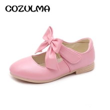 Buy COZULMA Children Shoes Girls Princess Bow Shoes Autumn Big Girls Fashion Sneakers Kids Flat Shoes 3 Color Size 26-36 for $9.42 in AliExpress store