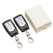 DC 12V 4 Channel 200M Wireless RF Remote Control Switch 2 Transmitter + Receiver