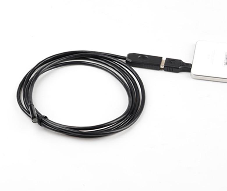 2M Diameter 7mm 1.3 Mega-Pixels HD USB Endoscope Camera For Android Smart Phone &amp;Computer Dual Purpose<br><br>Aliexpress