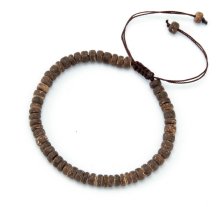 Natural Wood Beads Shamballa Bracelet String Bracelet Wood Bracelet Shamballa Jewelry diy bracelets