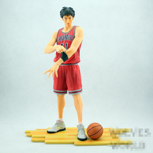 SLAM DUNK Japanese Anime Rukawa Kaede Cartoon RUKAWA Model SHOHOKU 11 PVC 25cm boxed Action & Toy Figures GH323