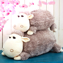 Kawaii 1 pcs 30cm / 42cm Sheep Plush toy Cute Alpaca Doll Soft Stuffed Animals Pillow Cushion Kids Baby Toy Girls Birthday Gifts