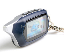 Russian version C9 Key Fob keychain for 2-way starline C9 lcd Remote Control two way car alarm system