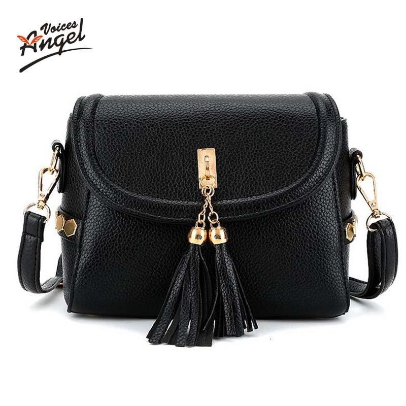 Angel voic Brand Bag Women Messenger Bags Leather Handbags crossbody bags for Women Shoulder Bags Designer Handbags High Quality<br><br>Aliexpress