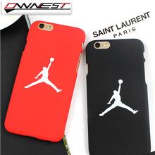 OWNEST Free Shipping flyman Michael Jordan PC case for iphone 7 6 6s 7 plus SE 5 5S back mate cover carcasa capa fundas coque