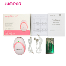 Listening your baby heart! Angelsounds mini Fetal Doppler portable fetal heart monitor,with earphone and USB cable for pregnancy(China)