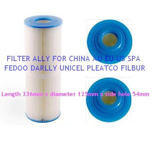 unicel C-4950 Cartridge filter and spa filter Pleatco PRB501N Filbur PRB50-IN FC-2390 Darlly 40506 L:33.6cm Diameter: 12.5cm<br>