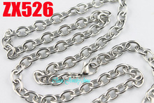 Buy 50 meters 6mm round wire cross chain stainless steel necklace fashion Sweater chain punk jewelry ZX526 for $120.00 in AliExpress store