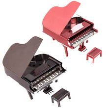 3 Color Piano Metal Puzzle Stainless Steel Classic Electric Musical Instruments Model 3D Jigsaw Puzzle Assembling Kids Toys