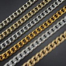 DIY delicate necklace making Gold silver  Jewelry accessories production Stars wear chain Wholesale prices 100cm