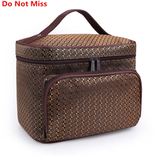 Do Not Miss Women Cosmetic Makeup Bag Folding Travel Makeup Organizer Bag Waterproof Cosmetic Bag Makeup Brushes Case Wash Bags(China)