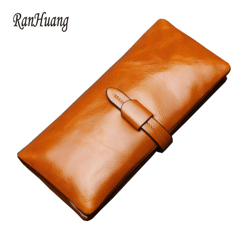 New 2017 Hot Women Genuine Leather Wallets High Quality 100% Cowhide Wallets Fashion Purses Ladies Clutch Bags Luxury Card Holde<br><br>Aliexpress