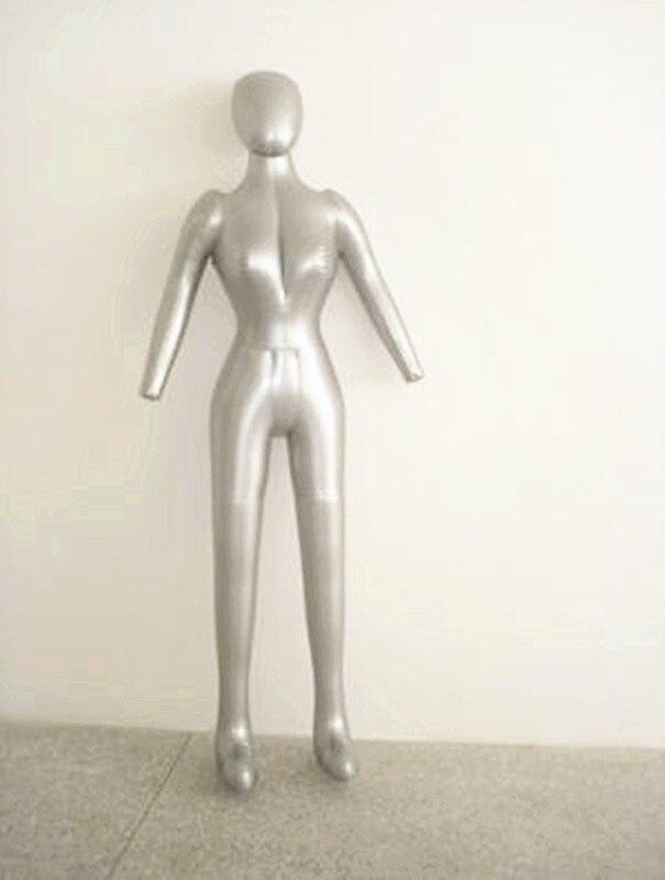 New Female Full Body Hat Dress Pants Inflatable Mannequin Dummy Torso Model<br>