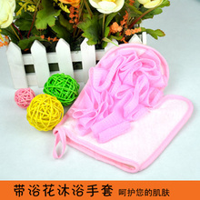 2016 Time-limited Direct Selling Glove Puff Para Sala Bathsite Scrubbing Gloves Bath Child Towel Cartoon Bubble Small Cloth