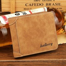 vintage stone pattern Men' Short Wallet retro high leather male Purse coin Card Holder thread bifold Money Purse for student