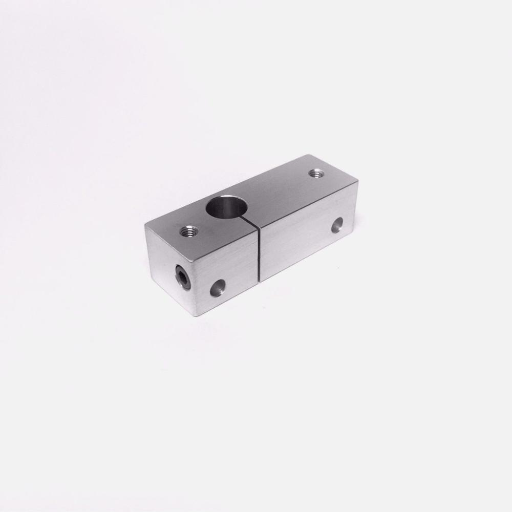 Wanhao i3 Cooling Block Upgrade Slotted Clamping aluminum fixing holder for Wanhao i3 3D printer spare parts<br><br>Aliexpress
