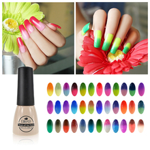 Elite99 7ml Temperature Mood Color Changing Gel Nail Polish Long Lasting Soak Off Led UV Gel Lacquer Perfect Effect